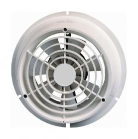 Biały wentylator kanałowy, okrągły METRIX KW 142A