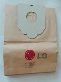 Worki papierowe LG TB 5 V5000 kpl 5szt