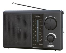 Radio przenośne Noveen PR450 czarne