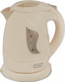 Czajnik ADLER AD08 B  1,0 litr płaskie dno beż