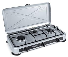 Kuchenka gazowa trzypalnikowa Promis KG300 srebrna