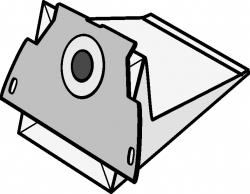 Electrolux Mondo EL03 kpl.5szt+filtry wlot i wylot worki papierowe do odkurzaczy