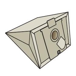 AEG A23 GR23,26 kpl.5szt worki papierowe do odkurzaczy