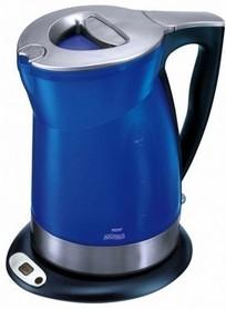 Czajnik w kolorze niebieskim z filtrem wody MPM XB 6048
